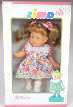 Les Amis De Corolle Doll Vintage New in Box Blonde Hair Blue