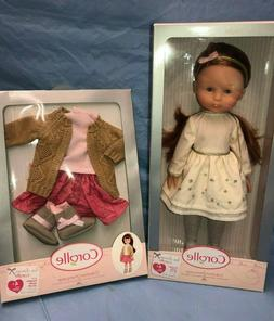 Corolle les Cheries 33cm Doll - Clara Christmas - NEW w/ FRE