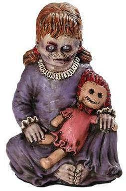 LIFE SIZE LATEX FOAM BABY GIRL ZOMBIE Outdoor Halloween Prop