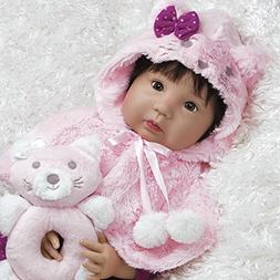 Paradise Galleries Realistic Asian Baby Doll, 20 inch Ethnic