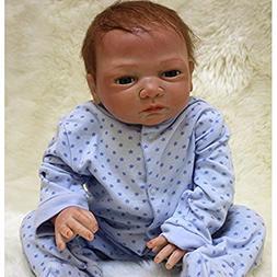 NPK Handmade Reborn Baby Doll Soft Vinyl Silicone 20inch Mag