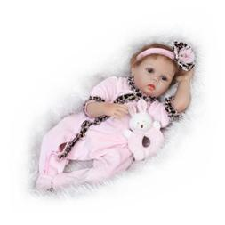 Lifelike Silicone Play Doll Gift Set Weighted Soft Body Play