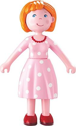 "HABA Little Friends Mom Katrin - 4.5"" Bendy Mother Doll Figu"