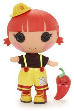 Lalaloopsy Littles Doll, Ember's Little Sister - Red Fiery F