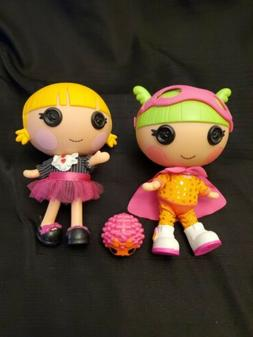 "Lalaloopsy Littles Little Sister Dolls Lot  Dolls 7"" Tall"