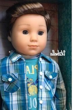 American Girl Logan Everett First Boy Doll BFF Tenney Grant