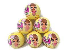 Set of 6 LOL Surprise Dolls Lil Sisters Series 3