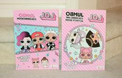 LOL Surprise Doll Coloring Book 2Pack - Act It Out & Rock n