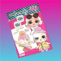 LOL SURPRISE DOLLS COLORING ACTIVITY BOOK WITH STICKERS COLO