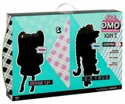 LOL Surprise OMG Dolls 2 pack - Alt Grrrl & Busy B.B. w/40+