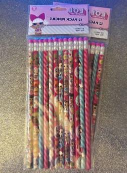 LOL Surprise Pencils  12 Packs