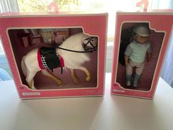 """Lori by Our Generation Lot White Camarillo and Maryse, 6"""" Do"""