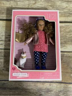 "LORI Doll Denelle & Dash Cat 6"" Battat Our Generation NEW in"