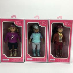 LORI Doll Battat Our Generation Equestrian  Kaori,Maryse,Jan