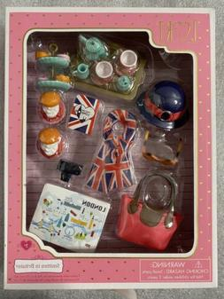 Battat LORI Doll SMITTEN WITH BRITAIN SET NEW In Box