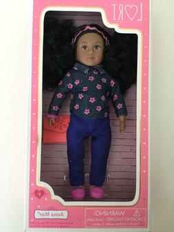 "Lori by Our Generation ANNA MAE 6"" AA Doll New"