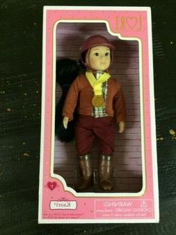"Lori Our Generation 6"" SAMANDA  Equestrian Doll NEW"