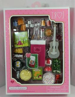 Lori Our Generation Camping & Carefree Accessories Set For 6