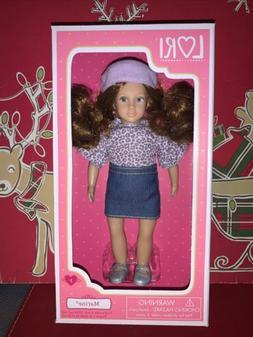 "Lori Our Generation Marine 6"" Doll By Battat!"