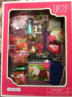 """Lori Our Generation *Saddle Up* Accessories Set For 6"""" Dol"""