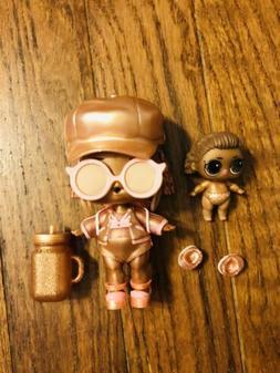 Lol surprise! lot 2 Dolls INSTAGOLD Big & Lil Sis 24K Gold C