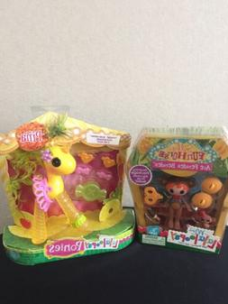 Lot Mini Lalaloopsy Silly Funhouse Ace Fender Bender and Lal