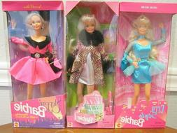 LOT OF 3 1990'S BARBIES - STEPPIN' OUT, CITY STYLE AND WILD