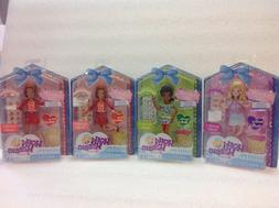 Lot Of 4 Holly Hobbie & Friends Clubhouse Girls Dolls. NIP