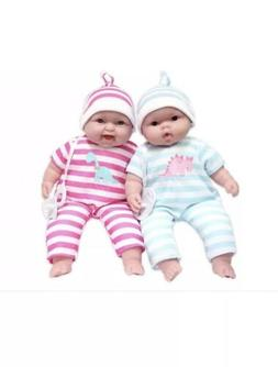JC Toys Lots to Cuddle Babies, 13-Inch Baby Soft Doll Soft B