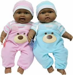 JC Toys - Lots to Cuddle Babies - Twin Dolls  African Americ