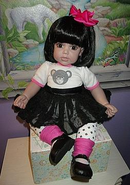 lovely 20 weighted toddler girl doll