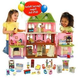 Fisher-Price Loving FamilyTM Grand Dollhouse Super Set