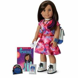 American Girl Luciana Vega Doll & Book Girl of the Year  Wit