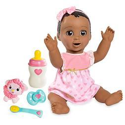Spinmaster Luvabella - Dark Brown Hair - Responsive Baby Dol