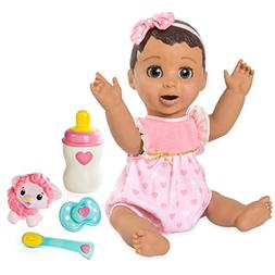 Luvabella Brunette Hair Interactive Baby Doll with Expressio