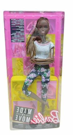 Barbie Made To Move Doll, Dark Hair