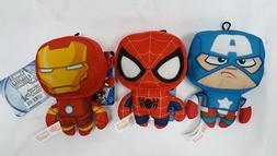 """Marvel Avengers 6 """" Plush Doll  Stuffed Toy Captain America"""