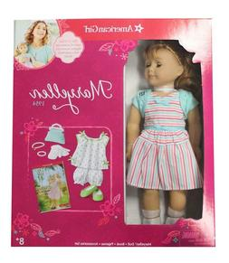 """American Girl MARYELLEN GIFT SET 18"""" Doll with PJ Set and Bo"""