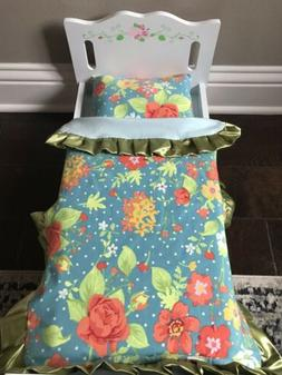 "Matilda Jane No Reservations Handmade Blanket For 18"" AG A"