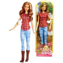 Mattel Year 2016 Barbie Career 12 Inch Doll - Barbie as FARM