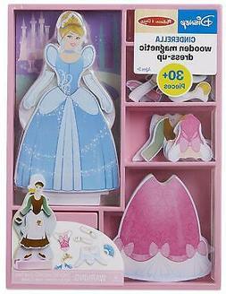 Melissa & Doug Disney Cinderella Magnetic Dress-Up Wooden Do