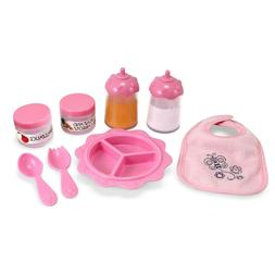 Melissa & Doug Mine to Love Baby Food & Bottle Set,Doll Acce