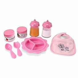 Melissa Doug Mine to Love Baby Food Bottle Set (Doll Accesso