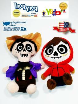Miguel and Hector Plush Toy Set From Disney movie COCO Stuff