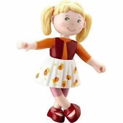 "HABA Little Friends Milla - 4"" Bendy Girl Doll Figure with B"