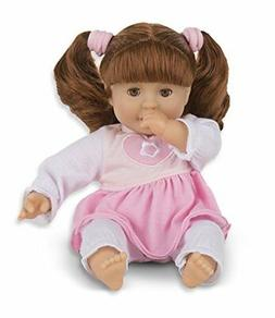 Mine to Love Brianna 12 Inch Soft Body Baby Doll with Hair a