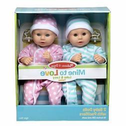 Mine to Love Twins Luke & Lucy Baby Dolls 31711 Melissa & Do