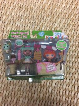Mini Lalaloopsy Doll Lot Scoops Serves Ice Cream