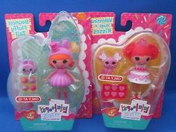 Mini Lalaloopsy~2 Dolls~Valentina Hugs n Kisses & Bouncer Fl