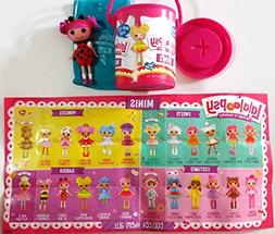 Mini Lalaloopsy Surprise Mystery Paint Cans- Series 1